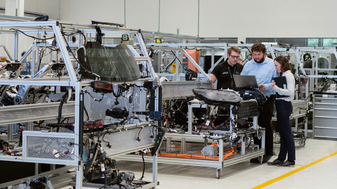 Team at Digital Manufacturing plant