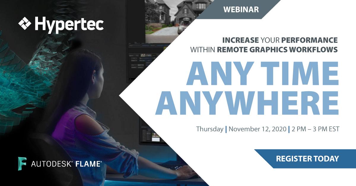 Hypertec Autodesk Flame Webinar 2020