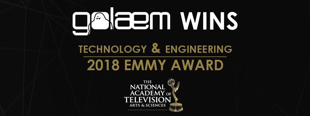 Golaem 2018 EMMY AWARD