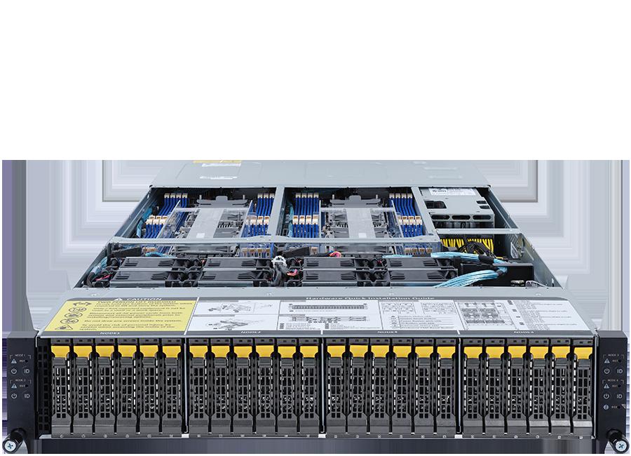 ORION HD520D-G5-24T4N High Density Server