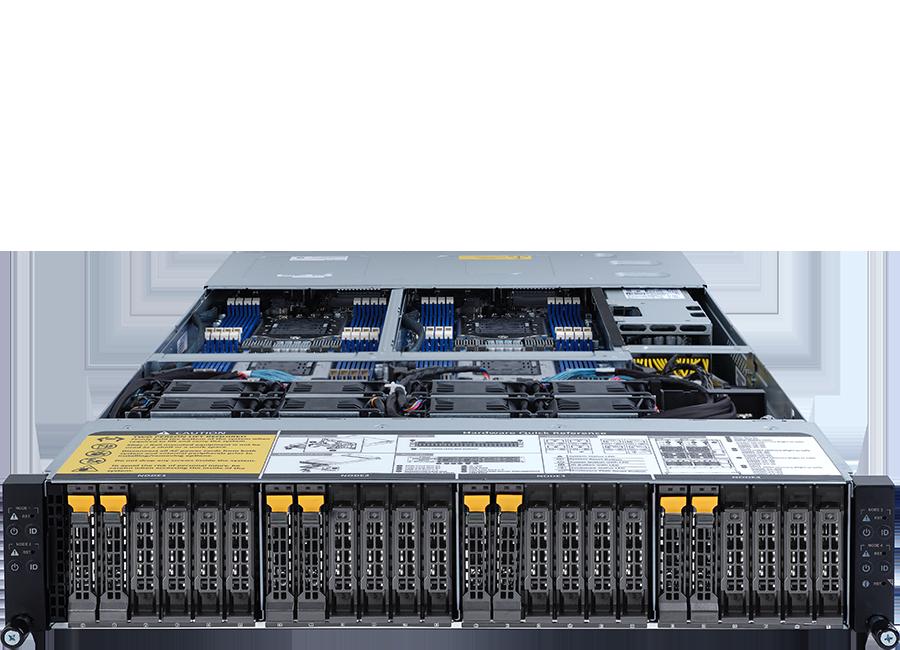 ORION HD525D-G5C-08T4N High Density Server