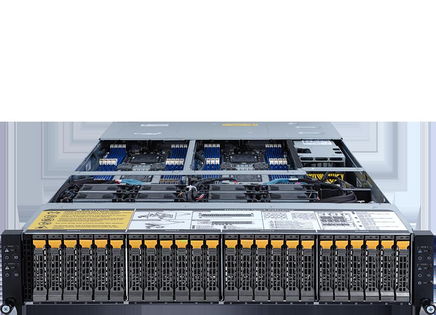 ORION HD525D-G5C-24T4N High Density Server