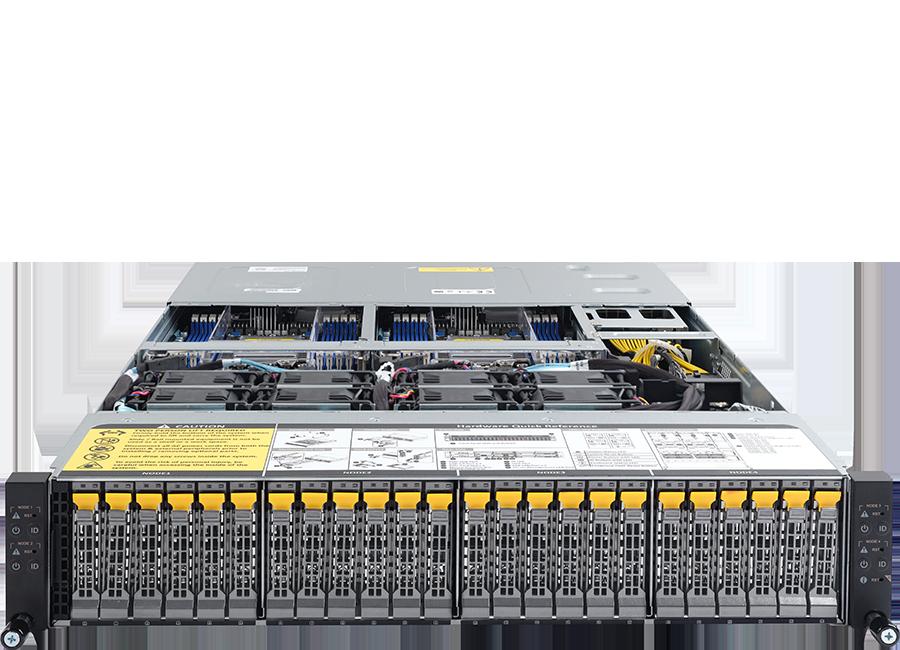 ORION HD525U-G5C-24T4N High Density Server